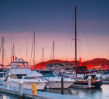 San Francisco: Yacht Morning Take 2 by Evan Weiss