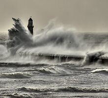 Wild Roker II by Great North Views