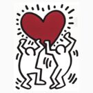 haring love by artvagabond