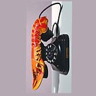 dali lobster phone by artvagabond