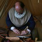 Medieval Leather Worker by patjila