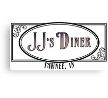 JJ's Diner - Parks and Recreation Canvas Print