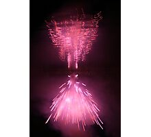 Fireworks on water 5 Photographic Print