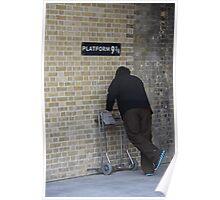 Platform Nine and Three Quarters Poster