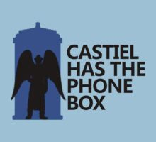 Castiel has the Phone Box by Taylor Katz