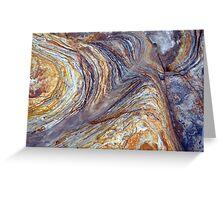 sandstone layer art Greeting Card