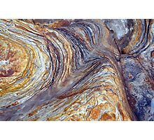 sandstone layer art Photographic Print