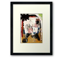 The Decay of Narrative Framed Print