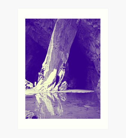 Cathedral Cavern Art Print