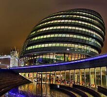 The Scoop and City Hall London - HDR by Colin  Williams Photography