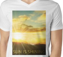 sun is shining Mens V-Neck T-Shirt