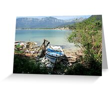 QUIET COVE. Greeting Card