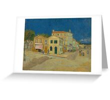 The Yellow House by Vincent van Gogh Greeting Card