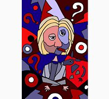 Funny Cool Hillary Clinton Puzzle Art T-Shirt