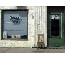 Open & Closed Photographic Print