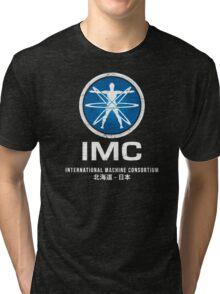 International Machine Consortium (worn look) Tri-blend T-Shirt