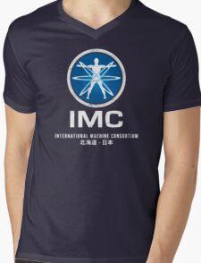 International Machine Consortium (worn look) Mens V-Neck T-Shirt