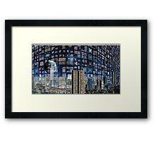 City Reflected - Bending Light Framed Print