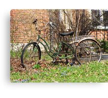 Retrocycle Canvas Print