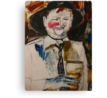 the drinker Canvas Print
