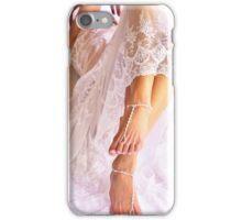 white wedding iPhone Case/Skin