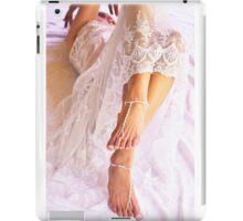 white wedding iPad Case/Skin