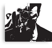 Fallout Joker Crossover Canvas Print