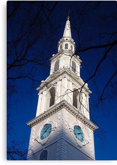 First Baptist Church by Steven Squizzero
