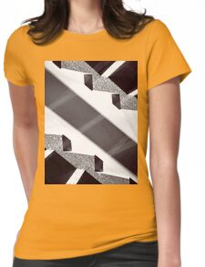 Up is down Womens Fitted T-Shirt