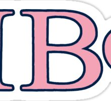Pi Beta Phi Vineyard Vines Sticker