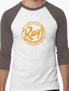 Ray's Music Exchange (worn look) Men's Baseball ¾ T-Shirt