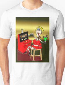 HOT MAMA LUCKY 7'S SLOT MACHINE T-Shirt