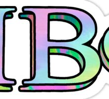 Pi Beta Phi 3D Sticker