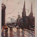 Princes Bridge, Melbourne by Hugh Cross