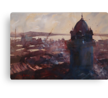 Montevideo's old town, Uruguay Canvas Print