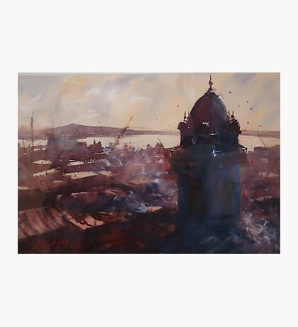Montevideo's old town, Uruguay Photographic Print