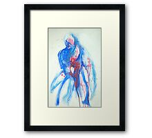The Broken Hearted Man Framed Print