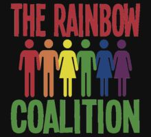 RAINBOW COALITION by OTIS PORRITT