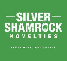Silver Shamrock Novelties (worn look) by KRDesign