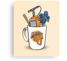 Morning Cup of J Metal Print