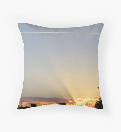 Morning!! Throw Pillow