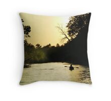 Half Past the Golden Hour Throw Pillow