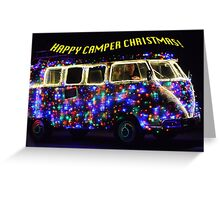 HAPPY CAMPER CHRISTMAS Greeting Card