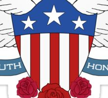 Truth & Honor Sticker