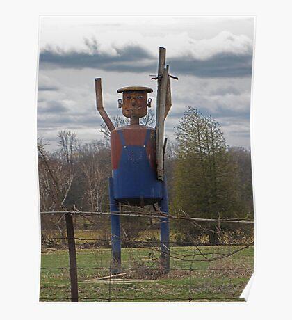 Scarecrow Tin Man Poster