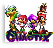 Chaotix - SEGA 32X Title Screen Canvas Print