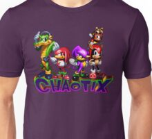 Chaotix - SEGA 32X Title Screen Unisex T-Shirt