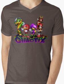 Chaotix Mens V-Neck T-Shirt
