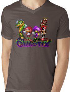 Chaotix - SEGA 32X Title Screen Mens V-Neck T-Shirt