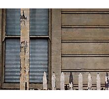 Wood, Window, Fence Photographic Print